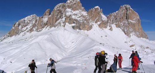 Dolomity lyžovačka