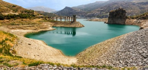 Andalúzia Rieka Genil Španielsko