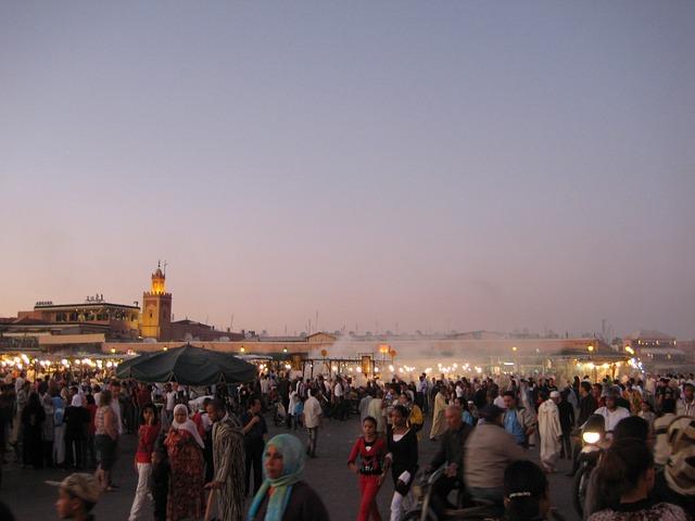 Centrum mesta Marakéš