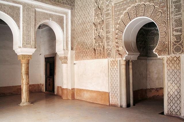 Mešita v Marakéši
