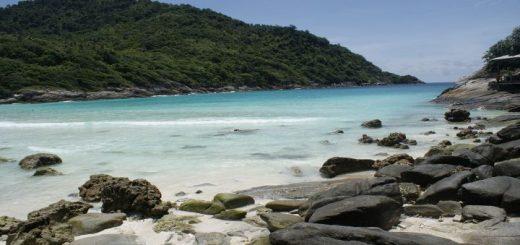 Phuket záliv ostrova