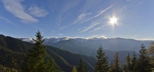 Tatry ponúkajú vždy krásny výhľad do krajiny