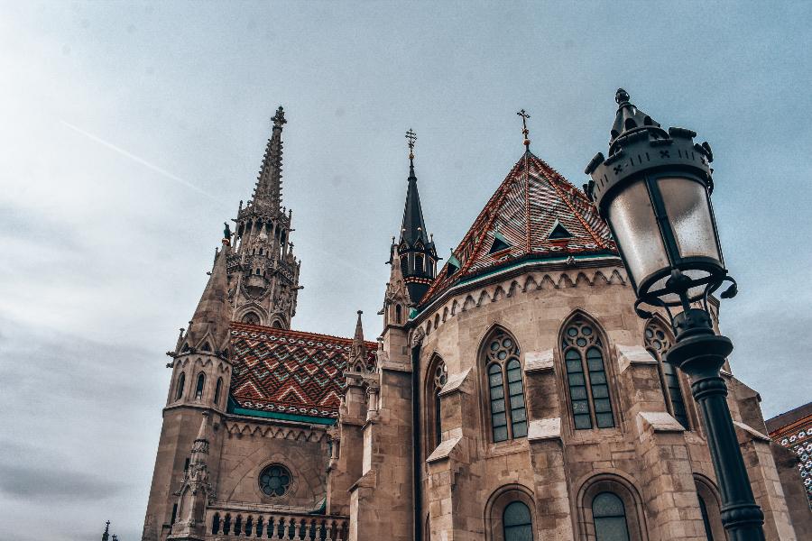 Architektúra budov v Budapešti