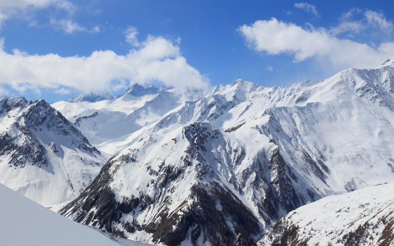 Alpy v zime, Francúzsko