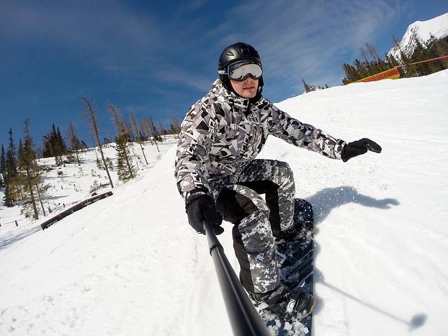 Jazda na snowboarde