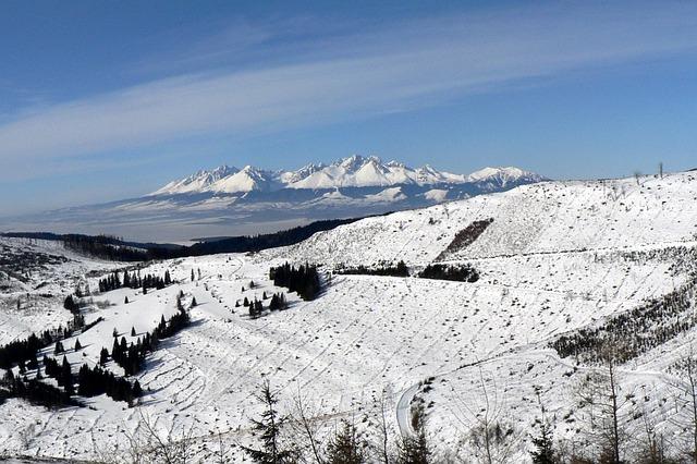 Tatry pod snehom
