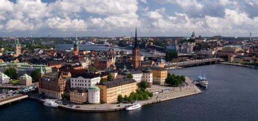Štokholmská štvrť Gamlastan