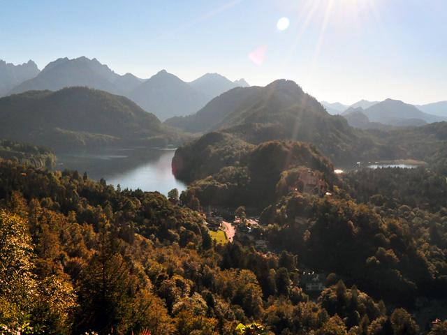Zámky v Alpách