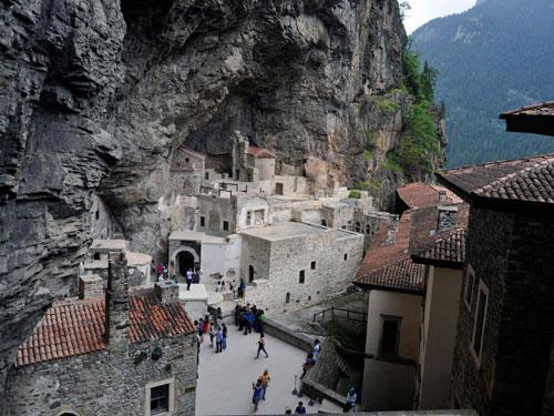 kláštor Sumela