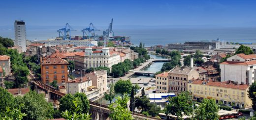 Panoráma mesta Rijeka