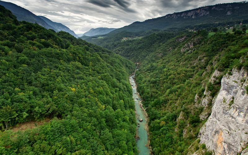 Kaňon rieky Tara
