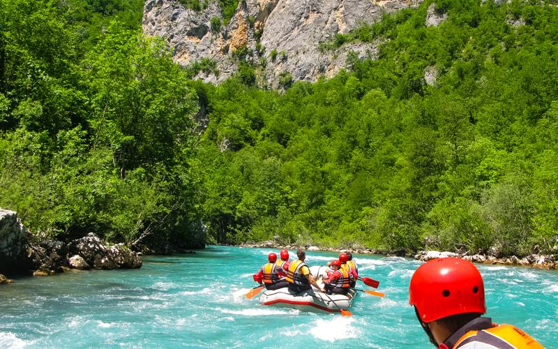 Rafting na rieke Tara