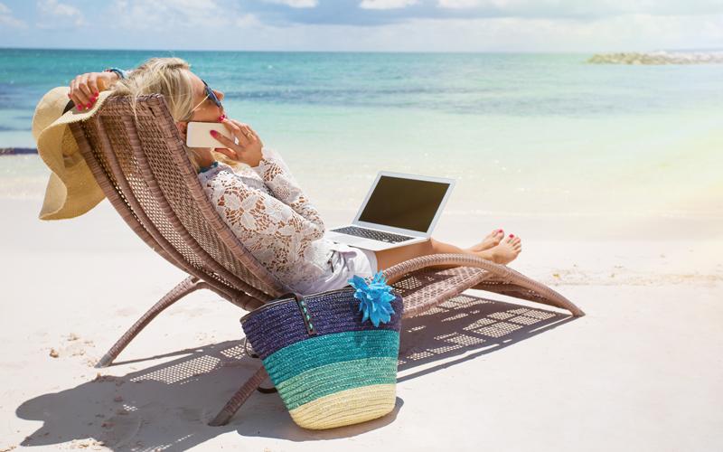 Stres na dovolenke