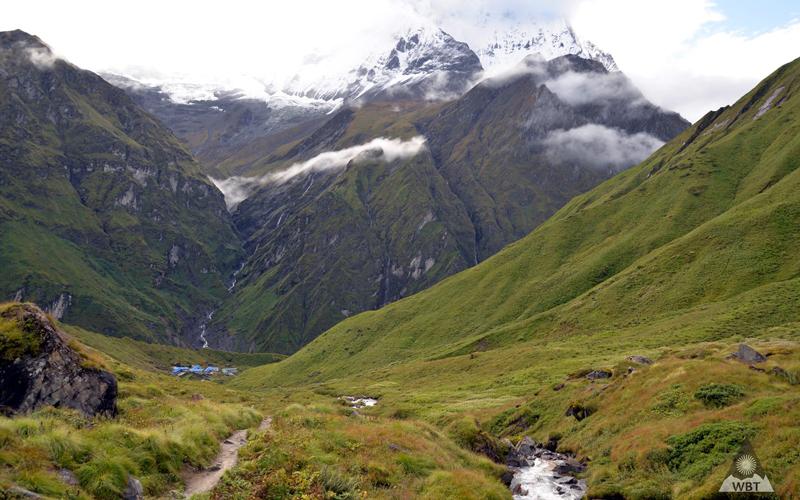 Údolie pod Annapurnou