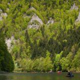 Splavovanie Dunajca v Pieninách