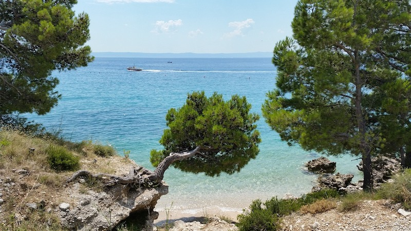 Makarska pláž