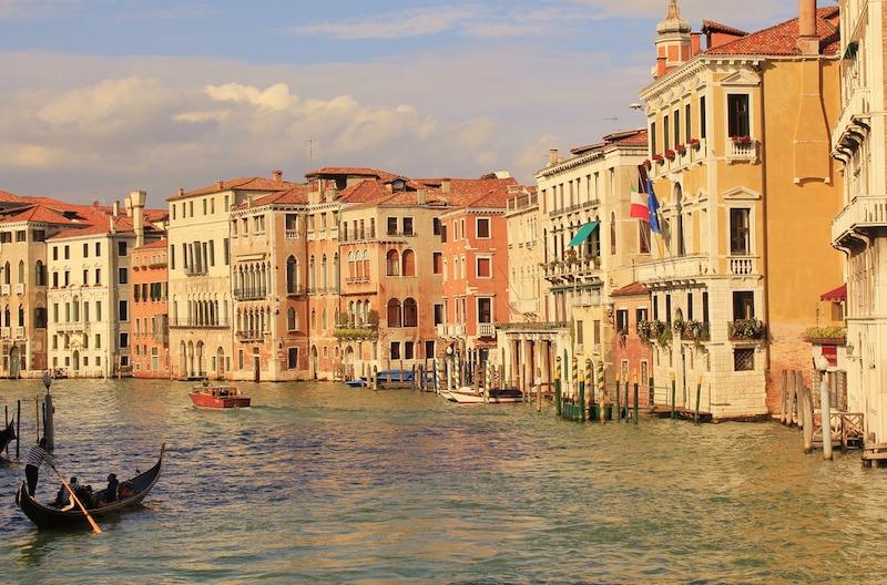 Kanál v Benátkach