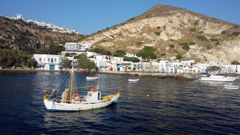 Rybárska osada Klima Milos