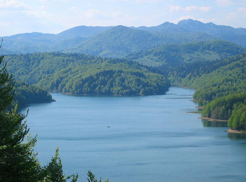 Lokvarsko jezero Gorski kotor