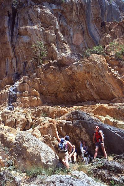 Paklenica lezenie po skalách