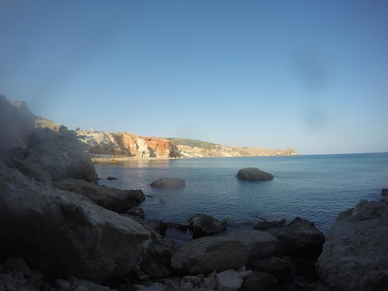 Pláž Pliochori Milos