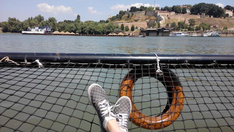 Pohľad na Kalemegdan Belehrad