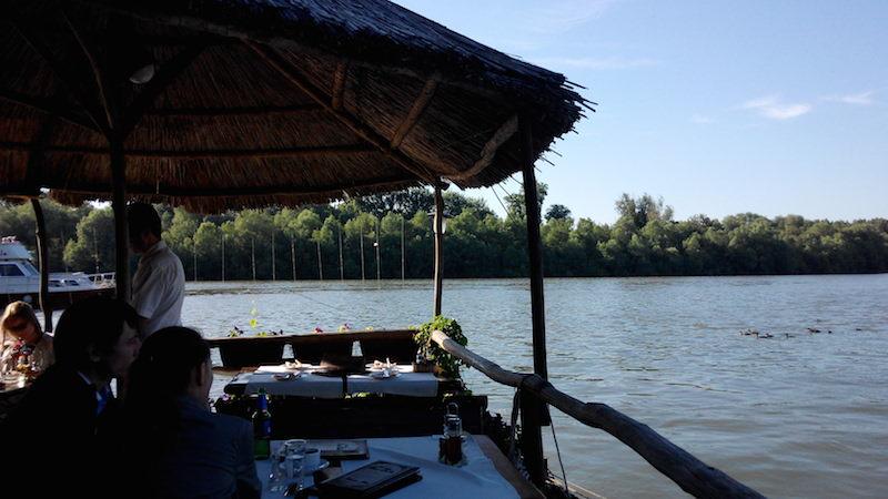 Belehrad reštaurácia Sáva Dunaj