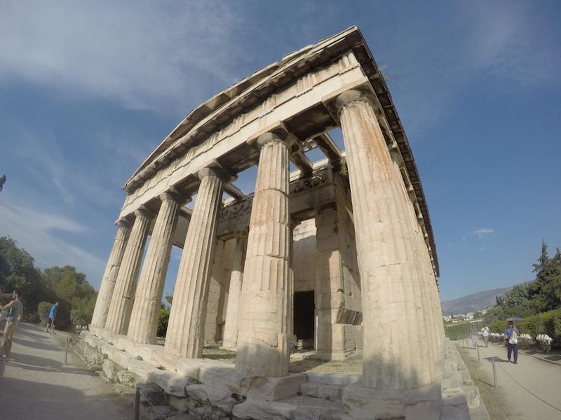 Chrám boha Hefaista Atény