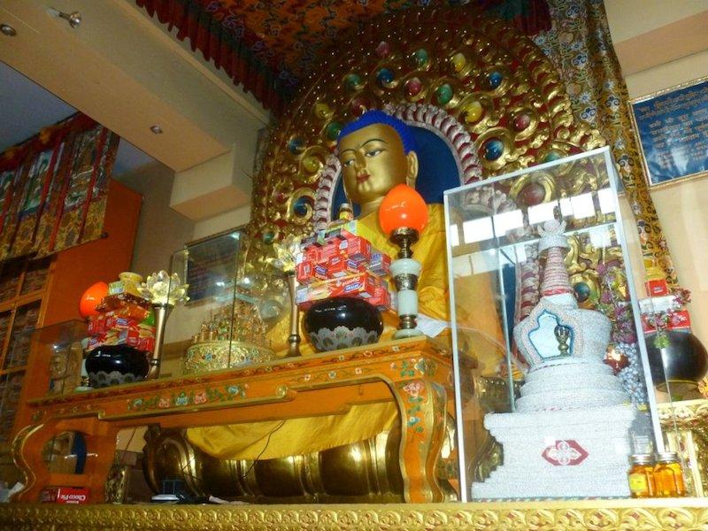 Budhistický chrám v Dharamshale