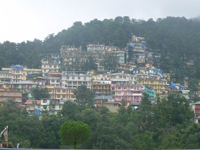 Pohľad na Dharamshalu