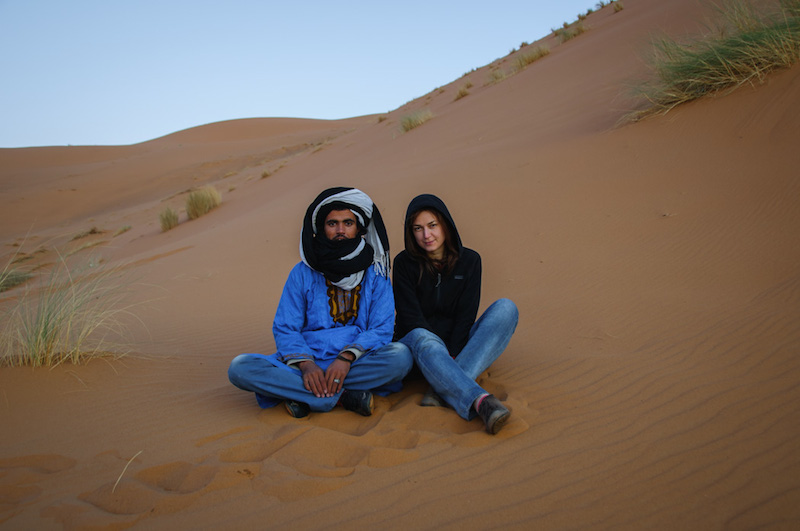 Púšť Merzouga Maroko
