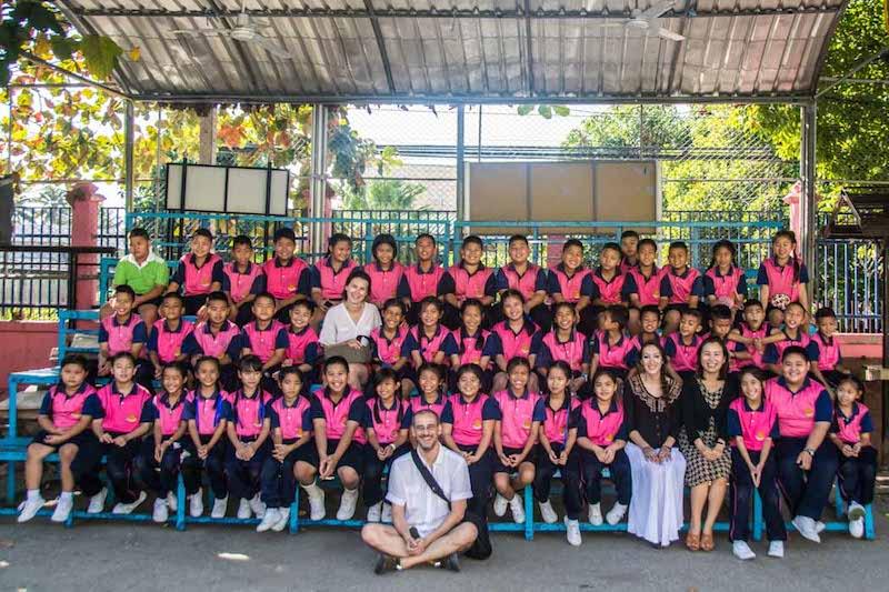 Základná škola Chiang Mai Thajsko