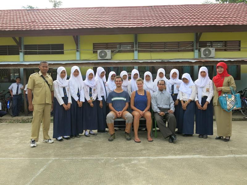 Škola v Indonézii