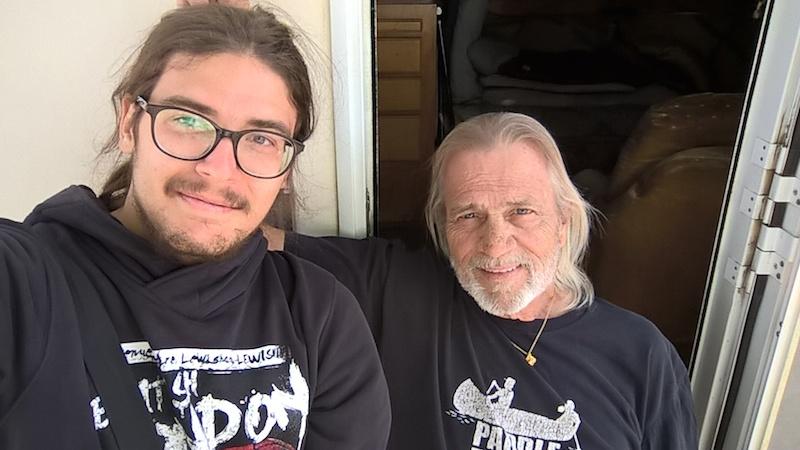 Emanuele a Steve, Nevada.
