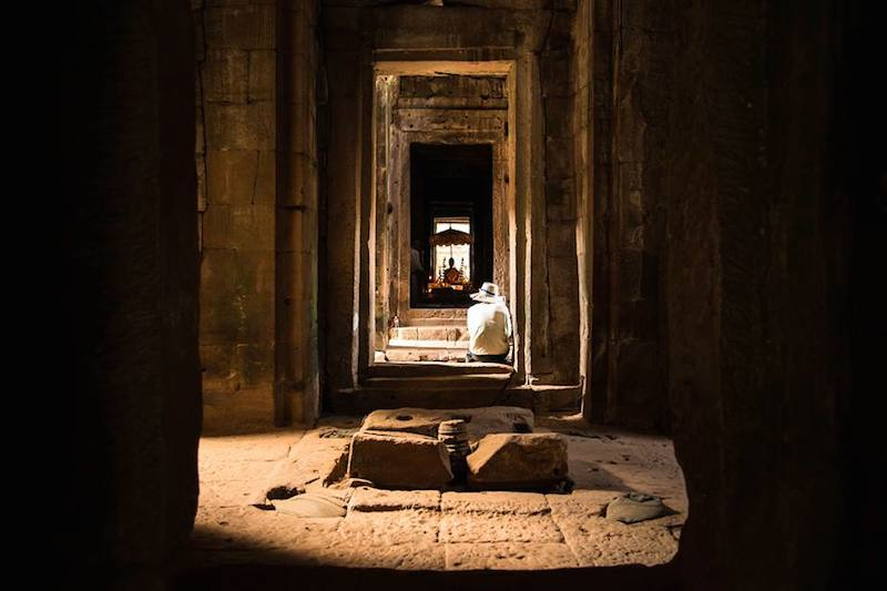 Chrám Bayon v Angkor Wat
