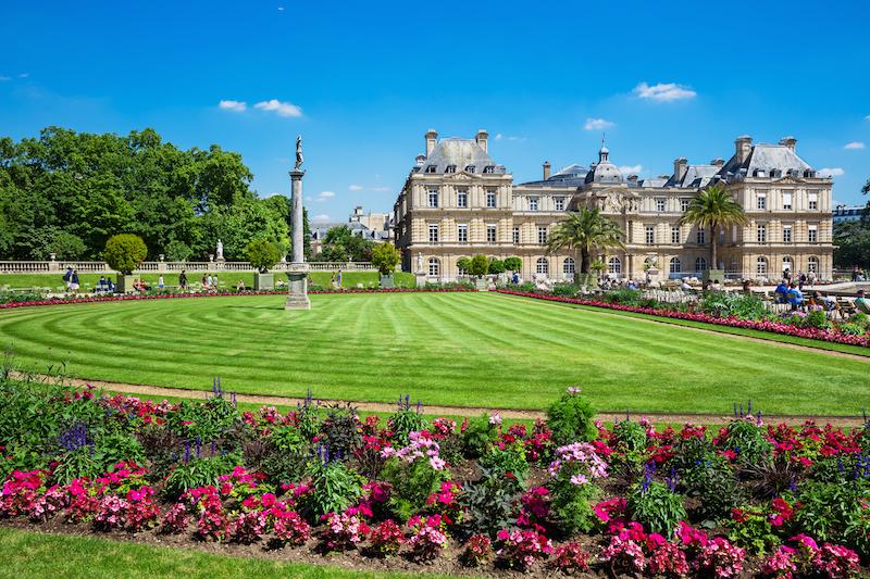 Jardin du Luxemburg Paríž