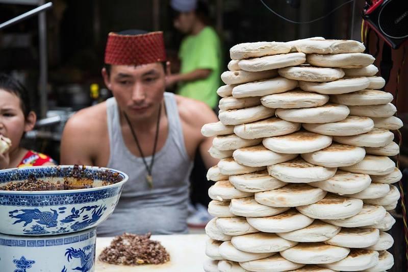 Pouličné jedlo v Číne Foto: Henrieta Vagner