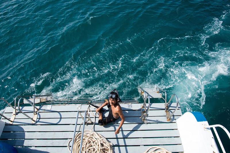 Thajsko potápanie Henrieta Vagner