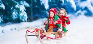 Zimná dovolenka s deťmi