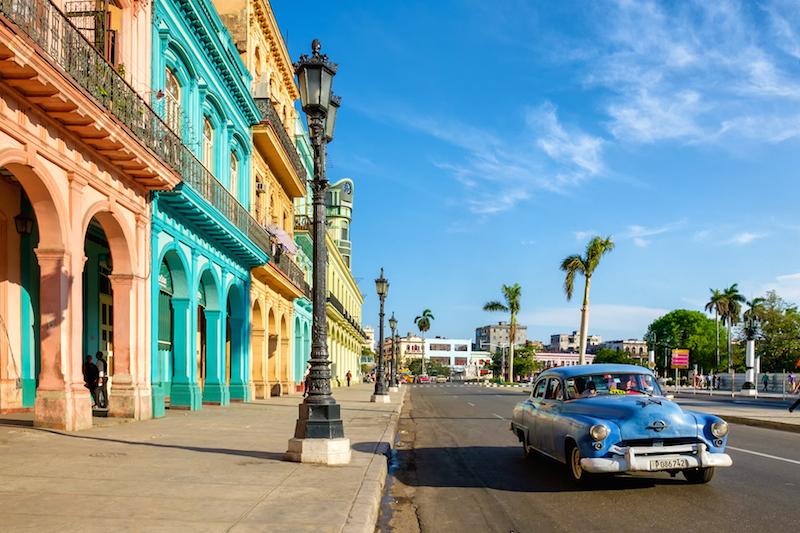 Kuba exotická dovolenka