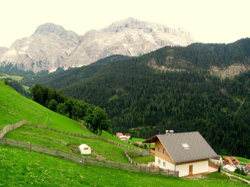 La Val (La Valle) v Južnom Tirolsku