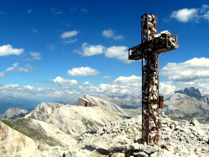 Muntejela de Senes, Dolomity
