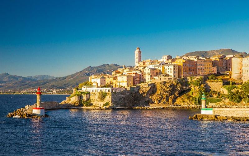 Prístav Bastia na Korzike