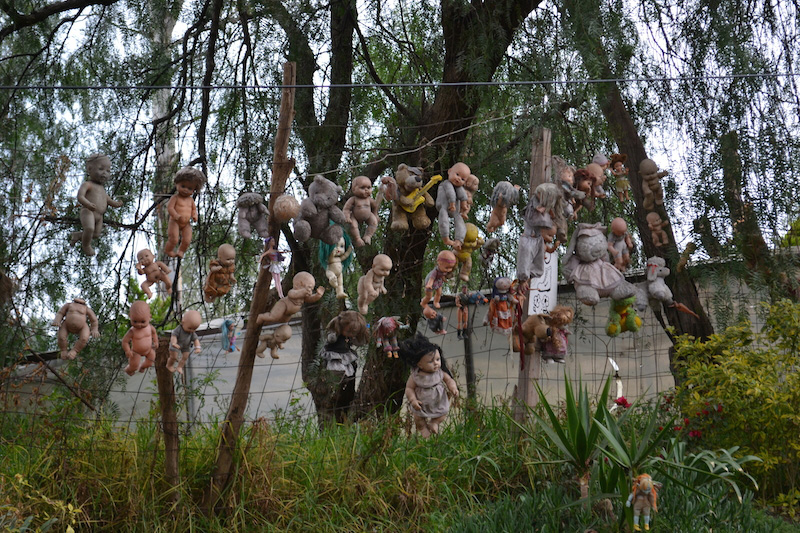 Ostrov bábik Mexiko