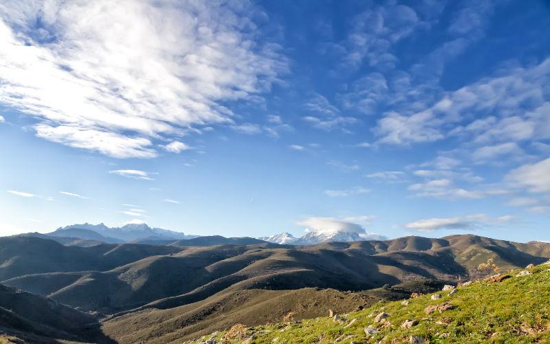 Najvyšší vrchol Korziky