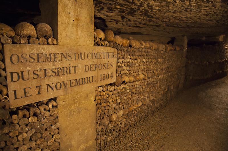 Katakomby v Paríži