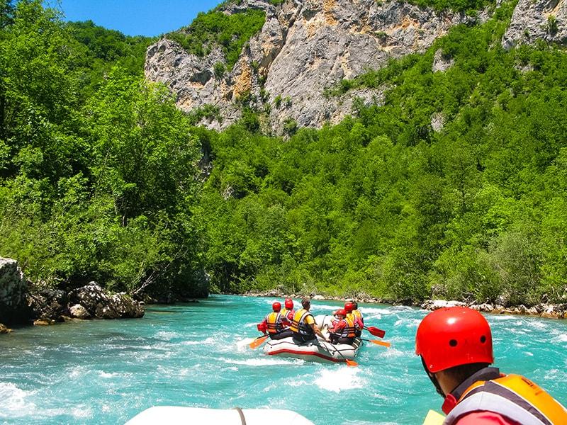 Rafting rieka Tara