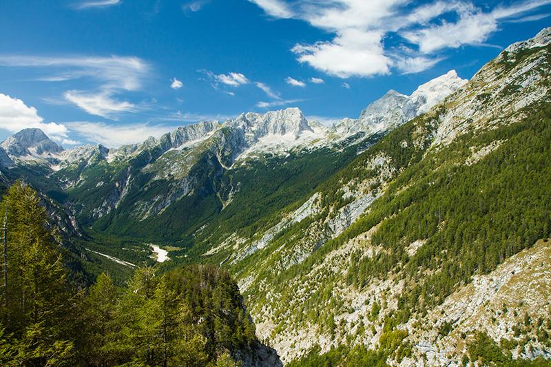 Slovinsko Julské Alpy