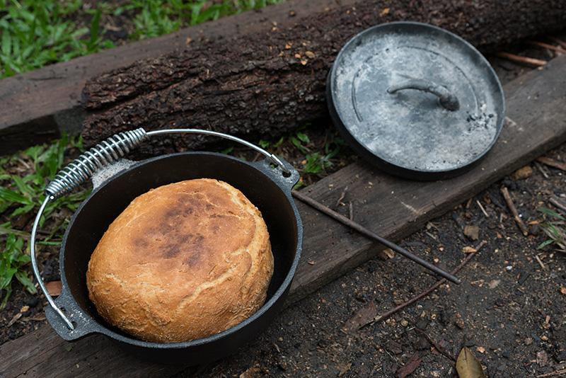 Damper chlieb Austrália
