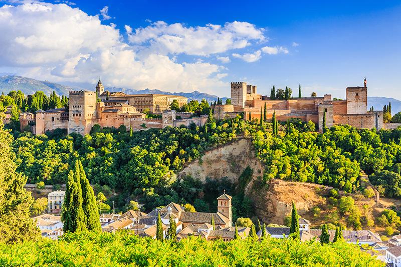 Granada Alhambra Španielsko